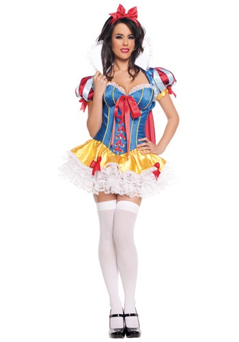 Lacy Sexy Snow White Costume