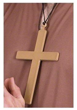 PVC Monk Cross