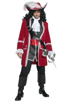 Mens Regal Pirate Captain Costume