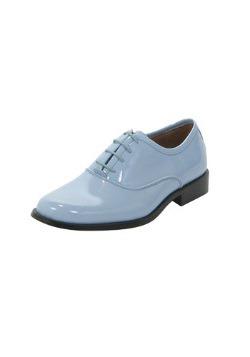 Baby Blue Tuxedo Shoes