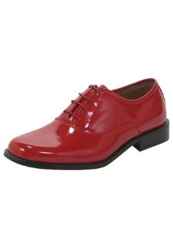 Men's Red Gangster Shoes
