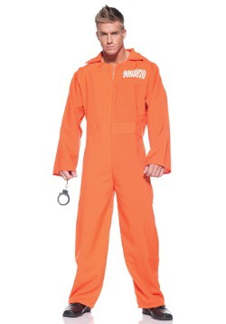 Mens Prison Jumpsuit