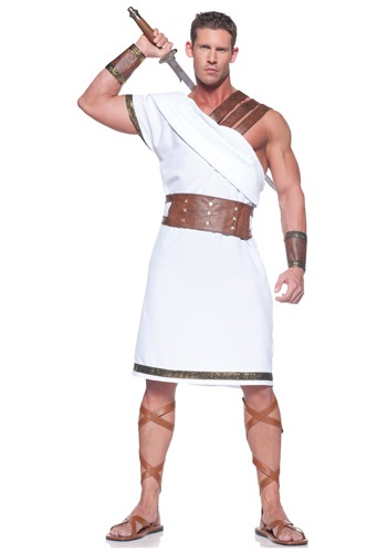 Plus Greek Warrior Costume