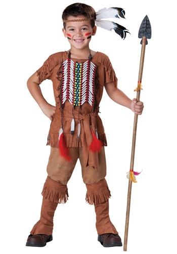 Child Indian Brave Costume