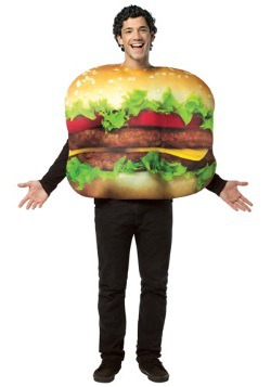 Adult Cheeseburger Costume