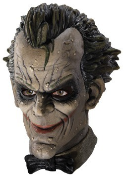 Arkham City Joker Latex Mask