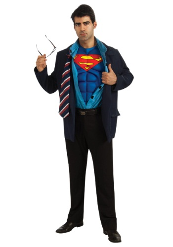 Adult Superman Clark Kent Costume