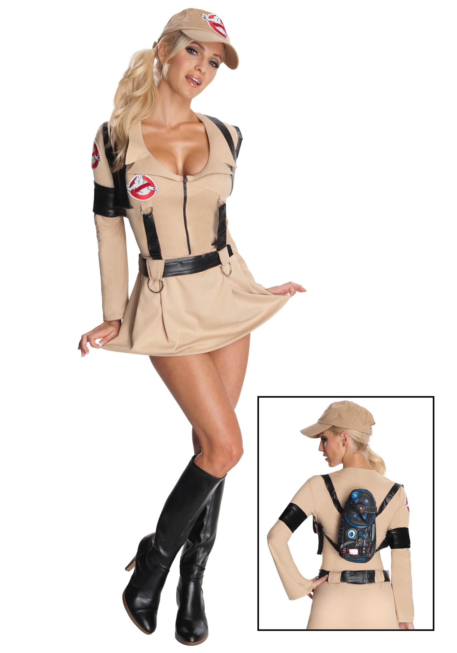 sc 1 st  Halloween Costumes UK & Sexy Secret Wishes Ghostbuster Costume