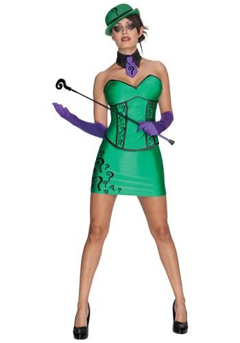 Womens Riddler Costume