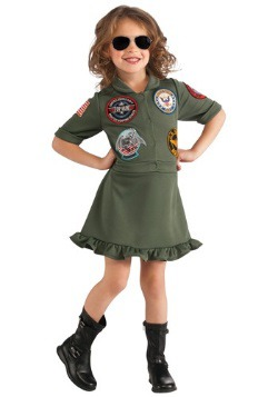 Girls Top Gun Flight Dress