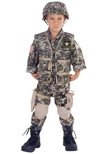 Kids Deluxe U.S. Army Ranger Costume