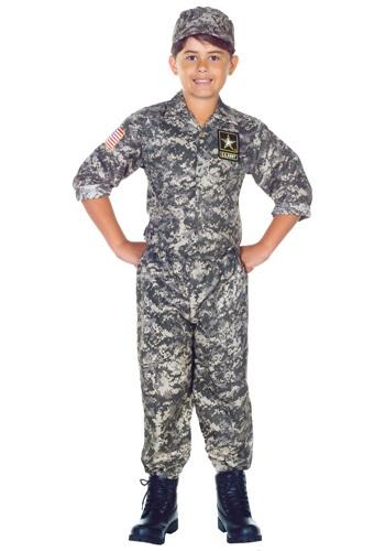 Child U.S. Army Camo Costume
