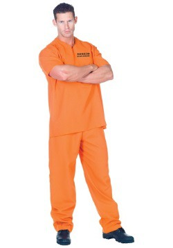 Public Offender Inmate Costume