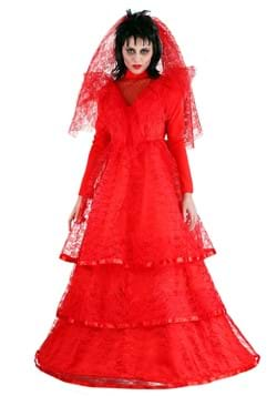 Red Gothic Wedding Dress Costume update
