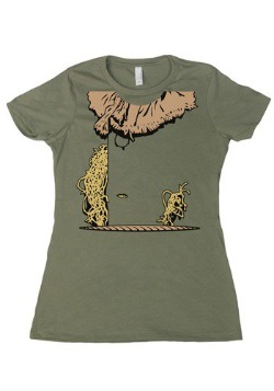 Womens Costume Scarecrow T-Shirt