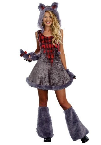 Teen Full Moon Sass Werewolf Costume