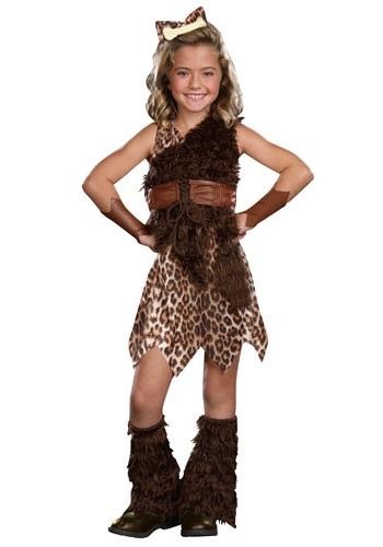 Child Cave Girl Cutie Costume