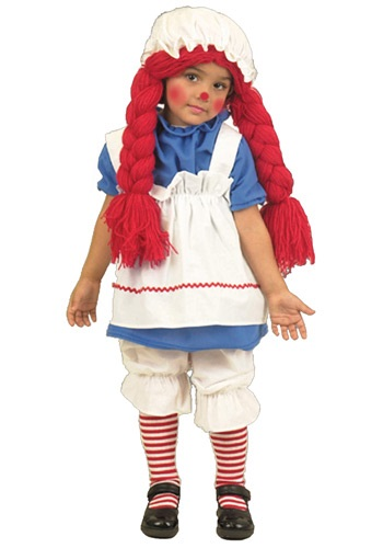Girls Rag Doll Costume