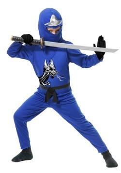 Child Ninja Avengers Series II Blue Costume