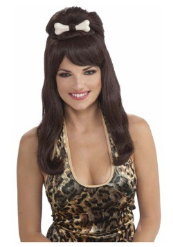 Prehistoric Brown Princess Wig