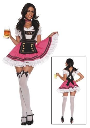 Womens Fancy Beer Girl Costume
