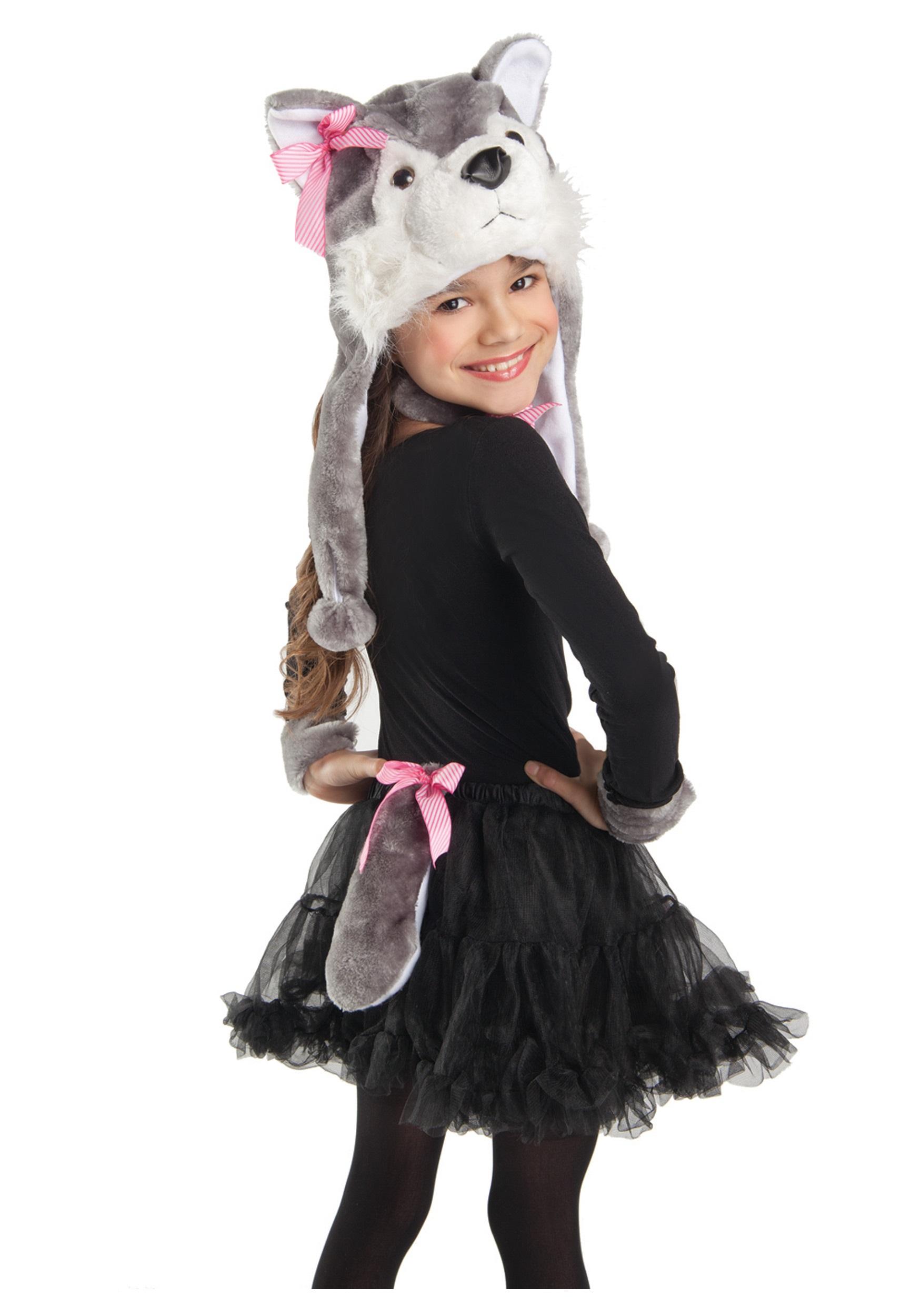 Girls Wolf Costume Kit