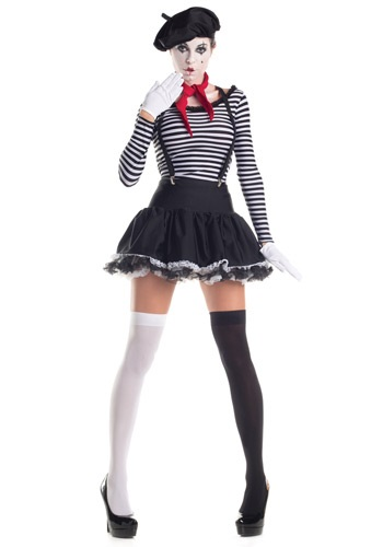 Mesmerizing Mime Costume
