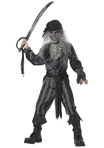 Kids Ghost Ship Pirate Costume