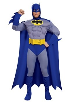 Deluxe Muscle Chest Batman Costume