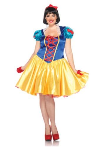 Plus Classic Disney Snow White Costume