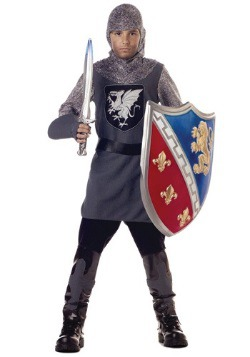 Kid's Valiant Knight Costume