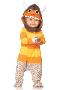 Baby Where the Wild Things Are Carol Costume Front