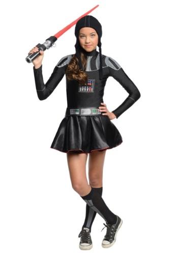 Darth Vader Tween Dress Costume