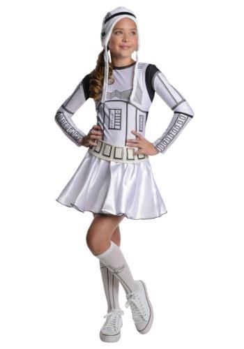 Storm Trooper Tween Dress Costume