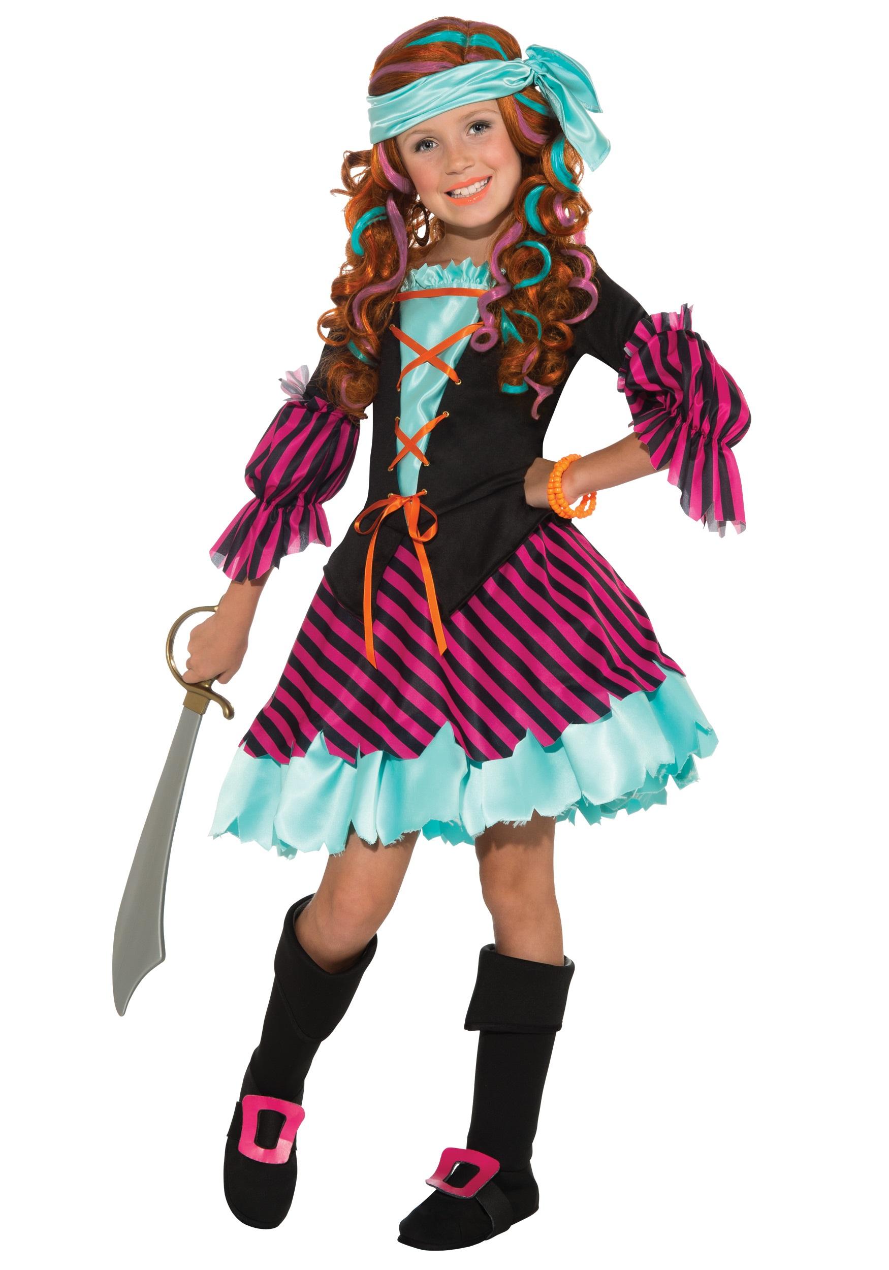 Salty Taffy Girls Costume  sc 1 st  Halloween Costumes AU & Salty Taffy Girls Pirate Costume