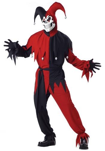 Adult Evil Jester Costume
