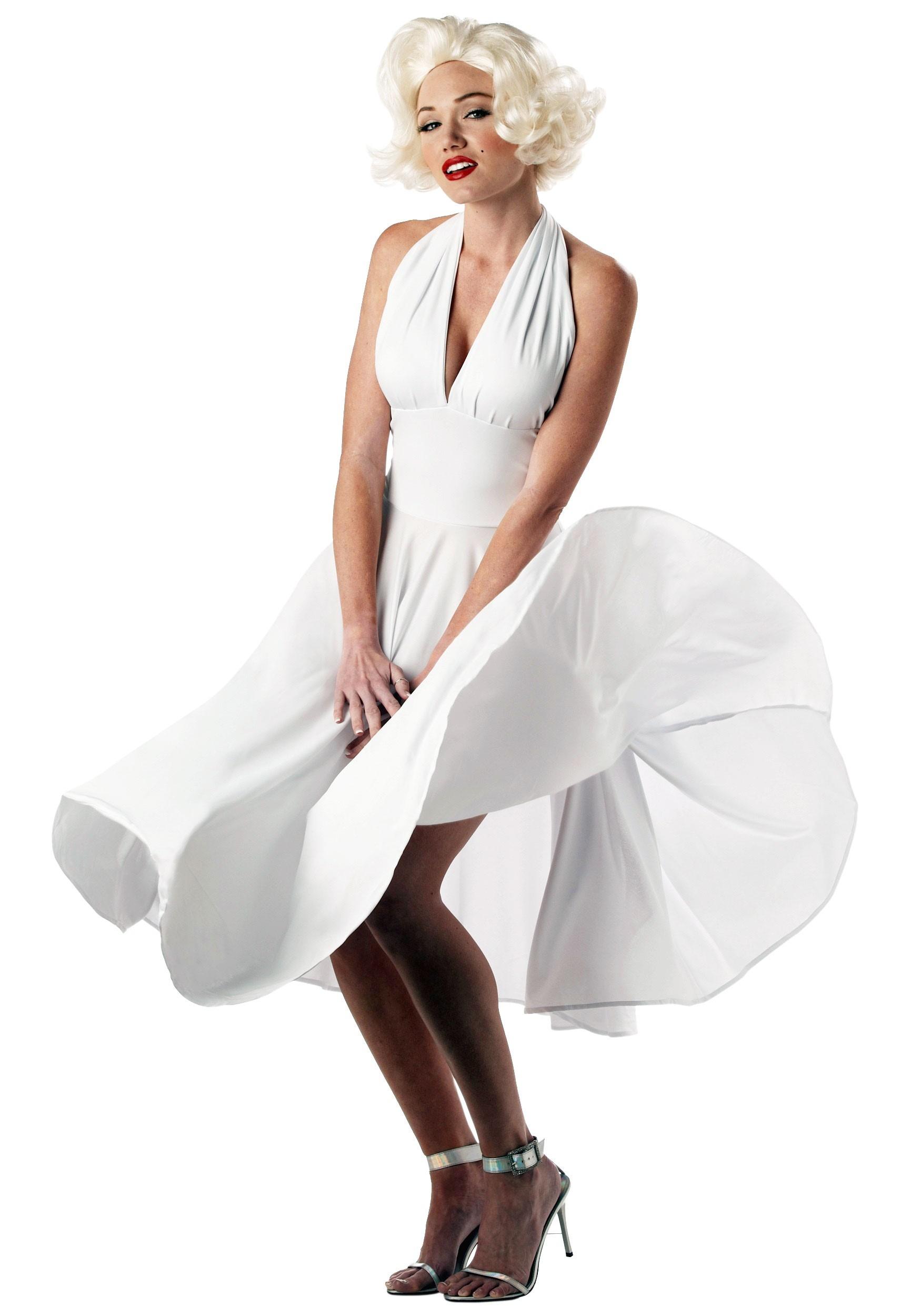 sc 1 st  Halloween Costumes UK & Marilyn Monroe Costume Dress