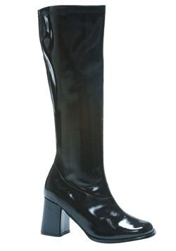 Womens Black Gogo Boots