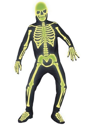 Mens Gothic Manor Graveyard Bones Costume