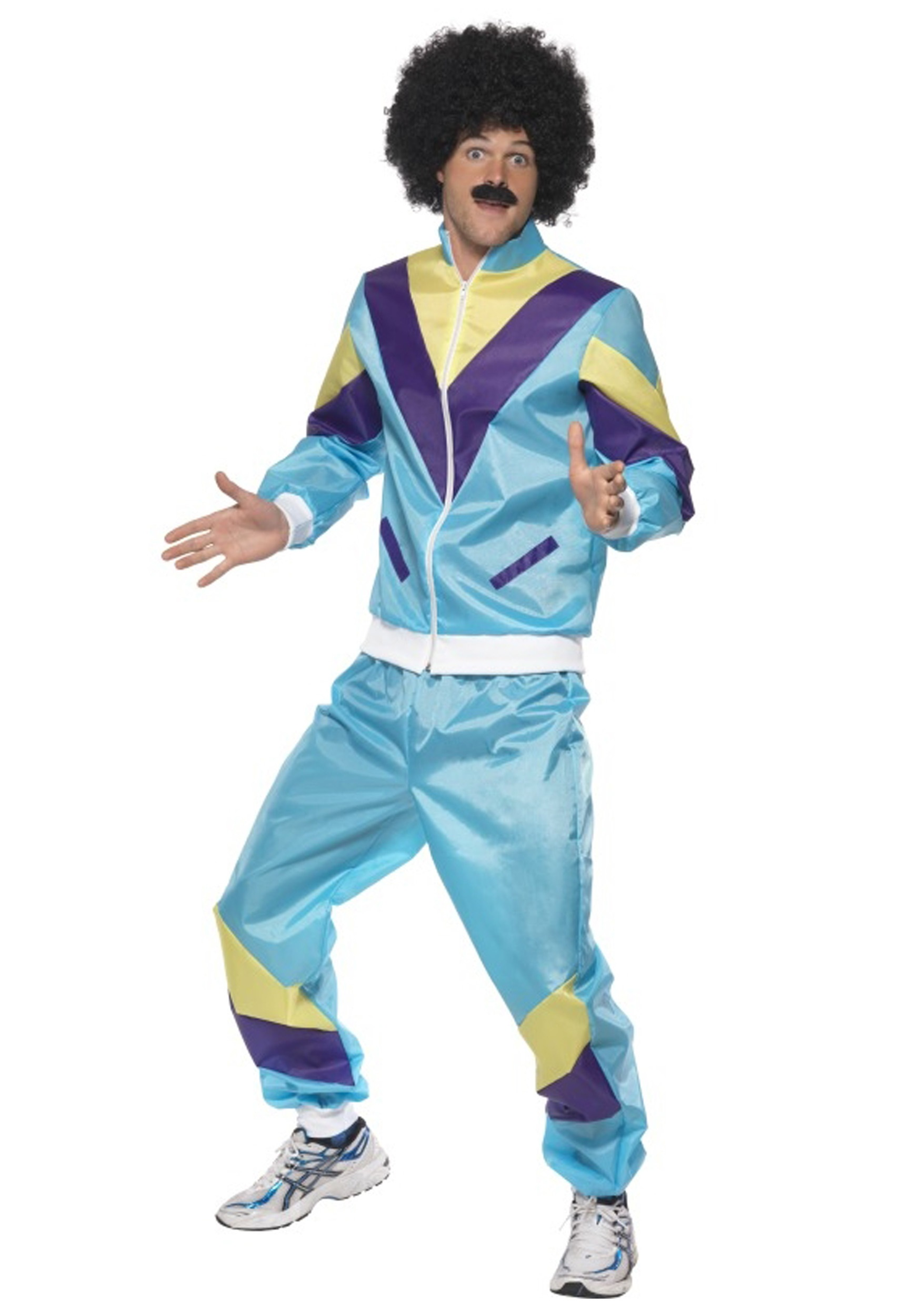 Men\u0027s 80s Height of Fashion Costume Suit