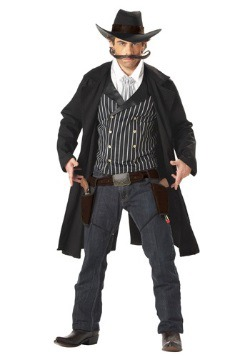 Adult Gunfighter Western Costume