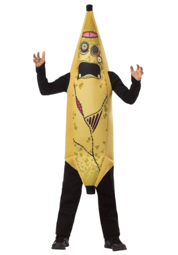 Child Zombie Banana Costume Front