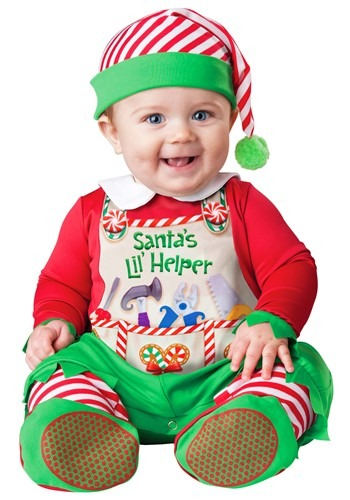 Santa's Lil Helper Costume