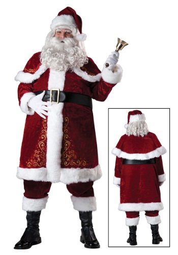 Plus Size Jolly Ole St. Nick Costume