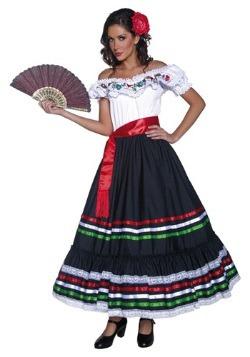 Authentic Western Senorita Costume