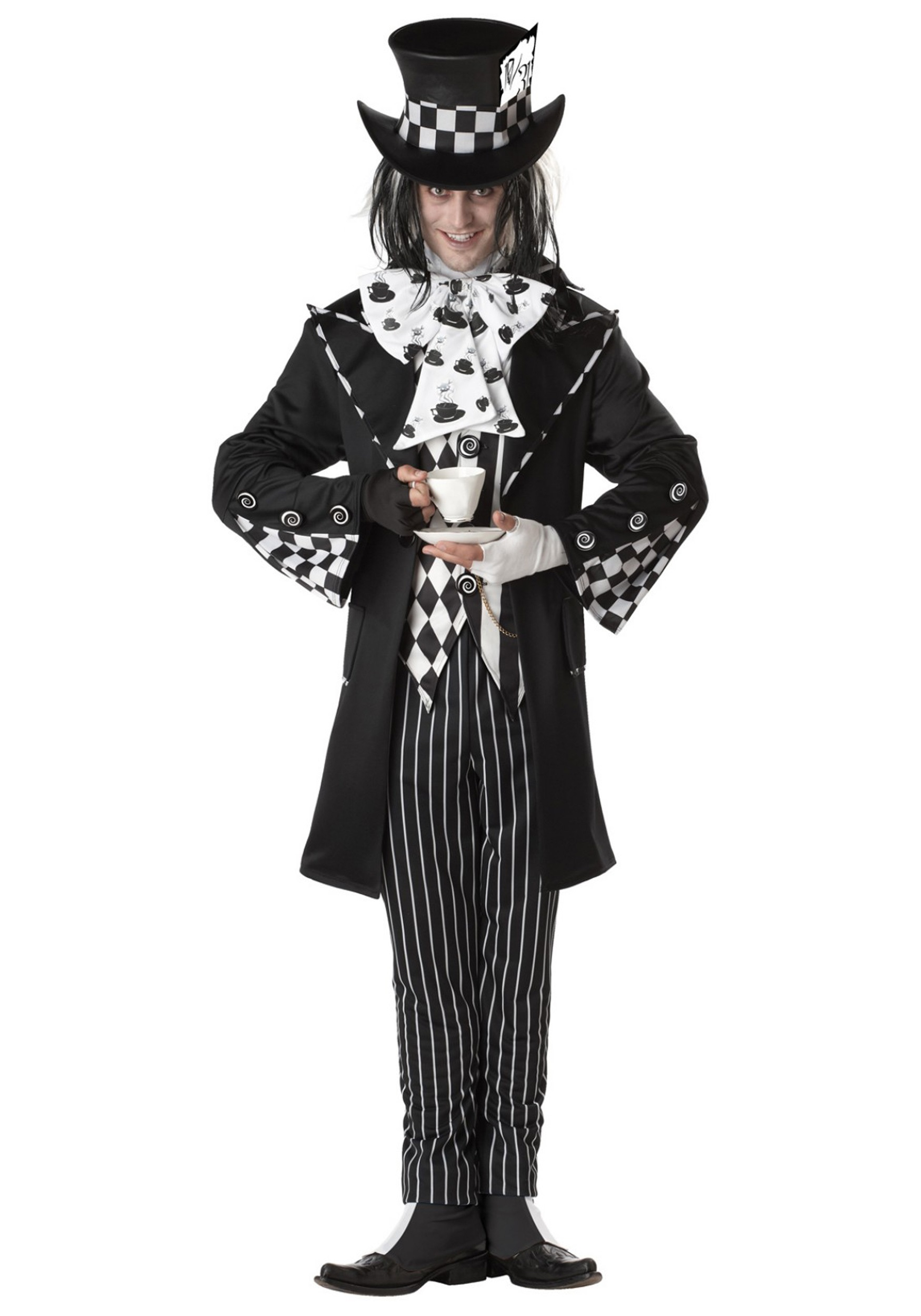 sc 1 st  Halloween Costumes UK & Dark Mad Hatter Costume