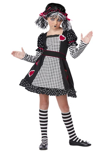 Rag Doll Girls Costume