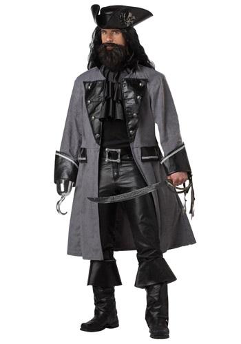 Mens Blackbeard Pirate Costume