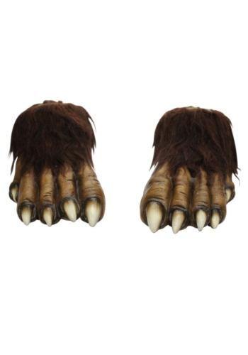 Adult Wolf Feet