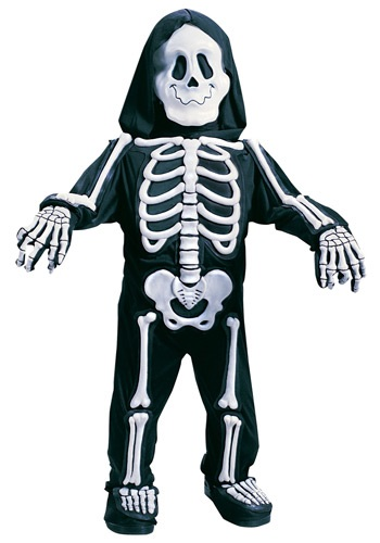 Child White Skeleton Costume
